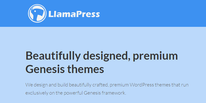 Premium Genesis themes by LlamaPress