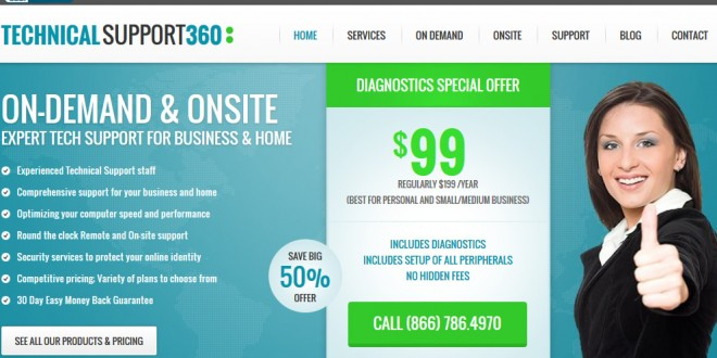 Technical Support 360.com