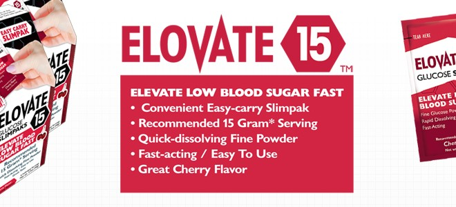 Elovate 15: Better than glucose tablets
