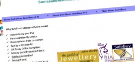 Fantastic site for silver birthstone jewellery and unusual stones jewellery