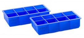 35% Off Set of 2 Large Silicone Ice Cube Trays