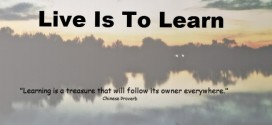 Live Is To Learn