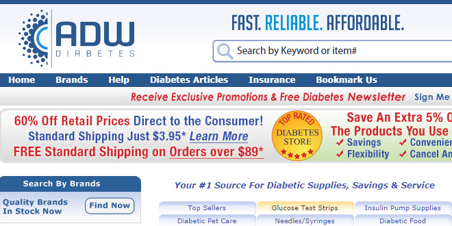 Diabetes Supplies for Less
