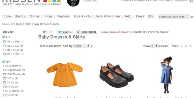Childrens Clothes Shops