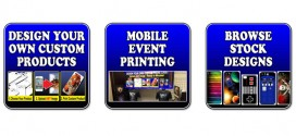 Put ANY custom image on a phone case or tablet cover!