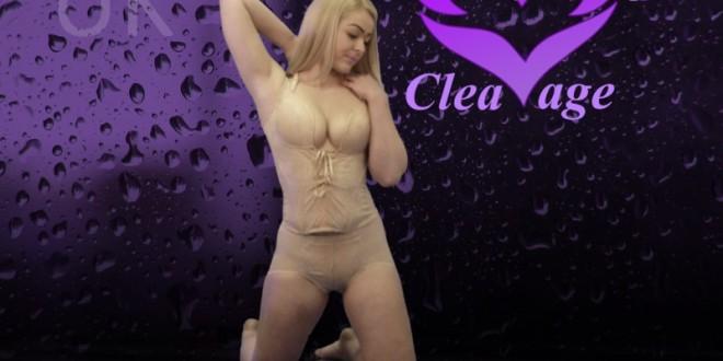 Incredible cleavage boosting shapewear bra