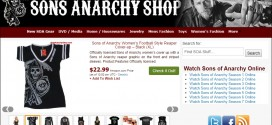 Sons Of Anarchy Online Store