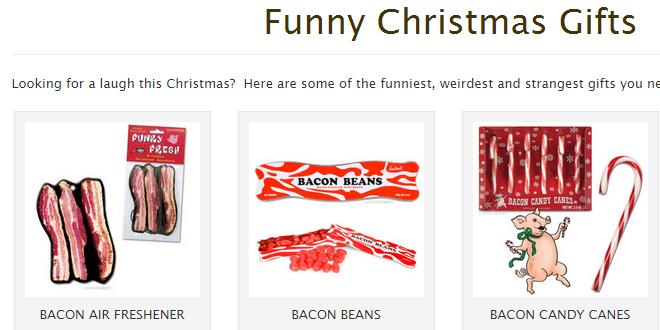Bizarre, strange and Funny Christmas gift ideas
