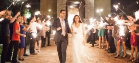 Using Sparklers During a Wedding