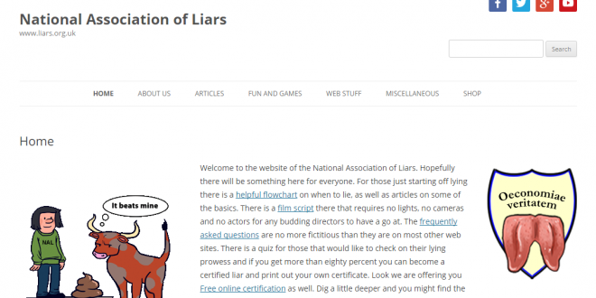Can you trust the National Association of Liars?